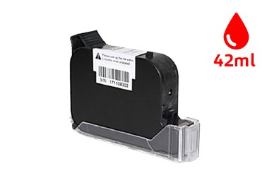 19S (42ml) - Solvent Based Red Ink Cartridge